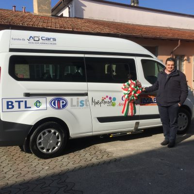 Donazione List, un nuovo automezzo per il CDI di Castrezzato
